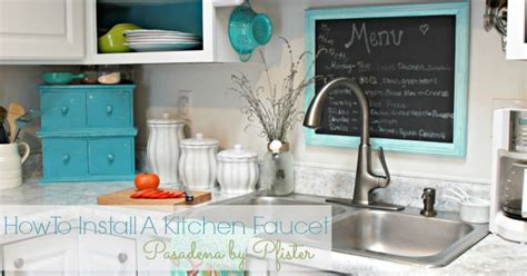 how do i replace a kitchen faucet how to install a kitchen faucet hometalk