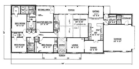 one story house plans with 4 bedrooms one story 4 bedroom house plans intended for the house house design ideas