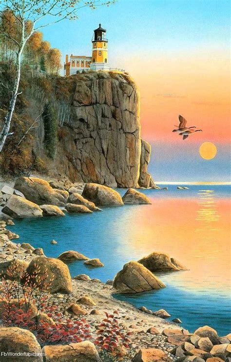 bob ross painting rocks best 25 seascape paintings ideas on sea