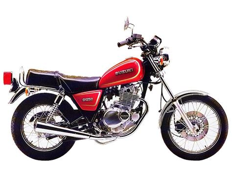 Suzuki Gn 250 by Pin Gn 250 1991 On