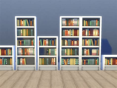 single bookshelves mod the sims single tile intellect bookcases