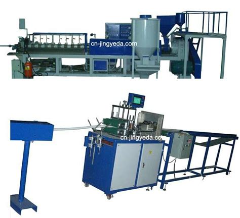 rubber st machine suppliers pe foam profile extrusion line jyd 70 jingyeda brand
