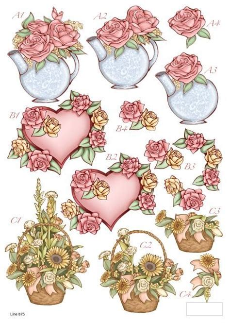 3d decoupage paper 208 best images about decoupage 3d paper crafts on