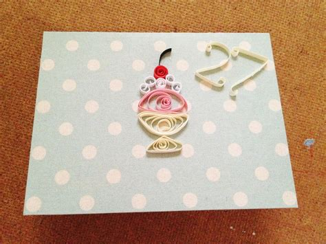 make birthday cards with photos quilling birthday card sweetkimplicity