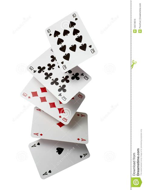 cards with photos cards gamble leisure stock images
