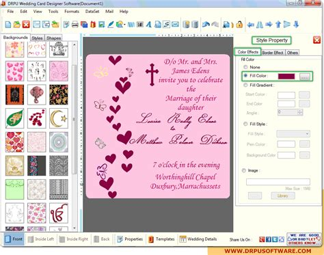 software for cards and invitations drpu wedding card designer software design marriage