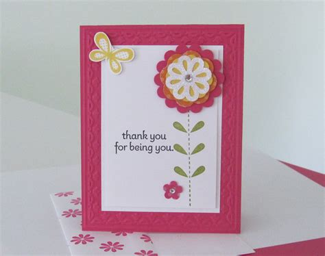 make cards home bold blossom st set blossom bouquet layer punch