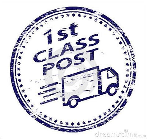 postcard rubber st 1st class post rubber st royalty free stock images
