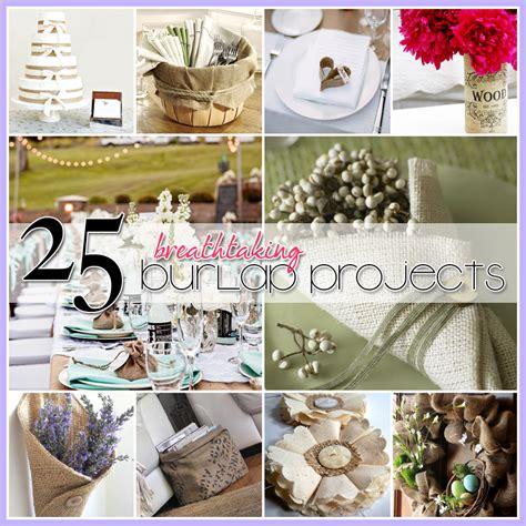 craft projects using burlap 25 burlap diy s the cottage market