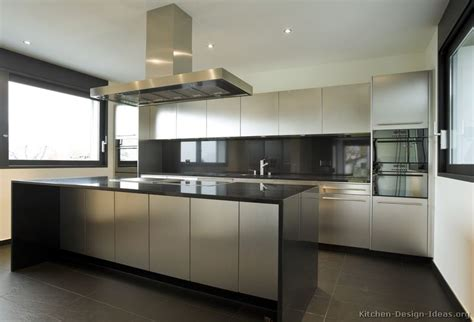 stainless cabinets kitchen stainless steel kitchen cabinets with black granite countertops