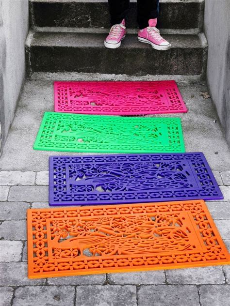make rubber st at home 5 creative diy project rubber door mat decor cozy bliss