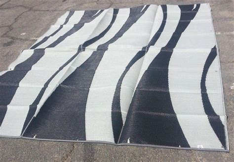 outdoor rugs 9x12 rv patio awning mat reversible outdoor rug 9x12 black