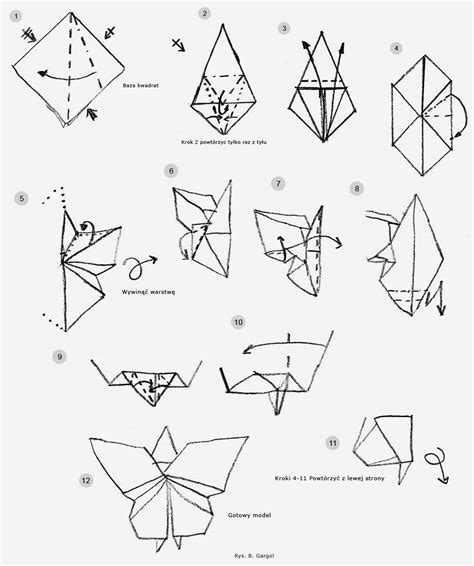 step by step origami butterfly steps in origami butterfly comot