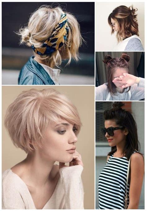 fotos de peinados de pelo corto 70 peinados para cabello corto rapidos y sencillos
