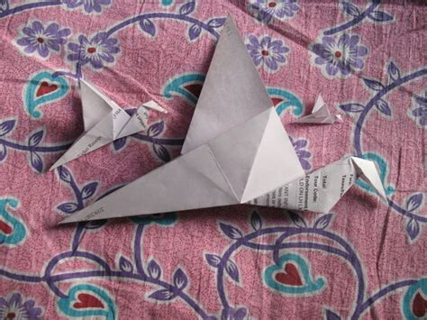 wikihow origami crane 25 best ideas about origami flapping bird on
