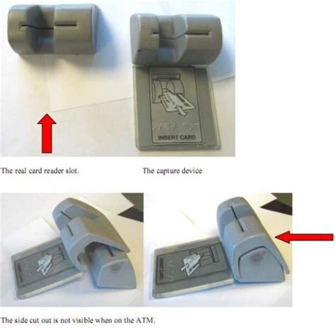 how to make a card skimmer atm skimmers getting clever would you spot it gadgetynews