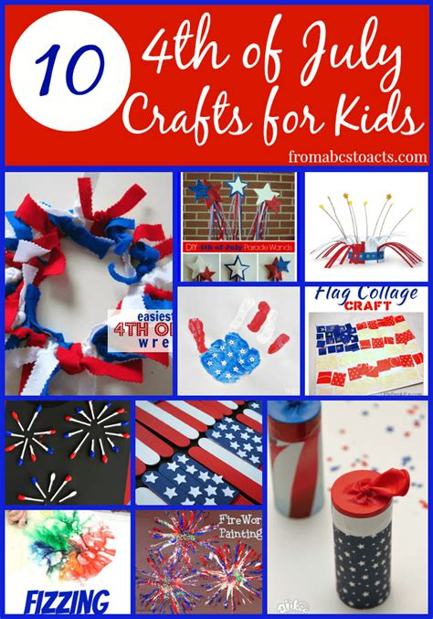 easy 4th of july crafts for 4th of july crafts for from abcs to acts