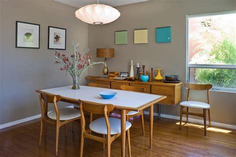 mid century modern dining room mid century dining