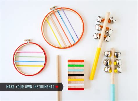 musical instrument craft for 12 craft ideas ted s