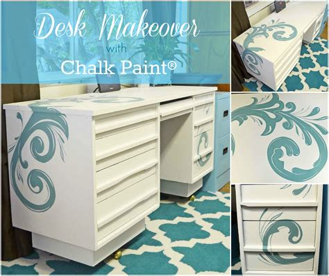 chalk paint it chalk paint desk crafty thingys