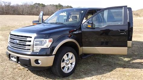 Ford F150 Lariat For Sale by 2013 Ford F150 Lariat 4wd 5 0 V8 Less Than 3000