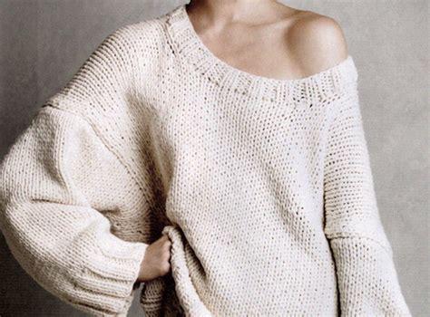 big knit jumpers baggy big bone fashion jumper image 100021