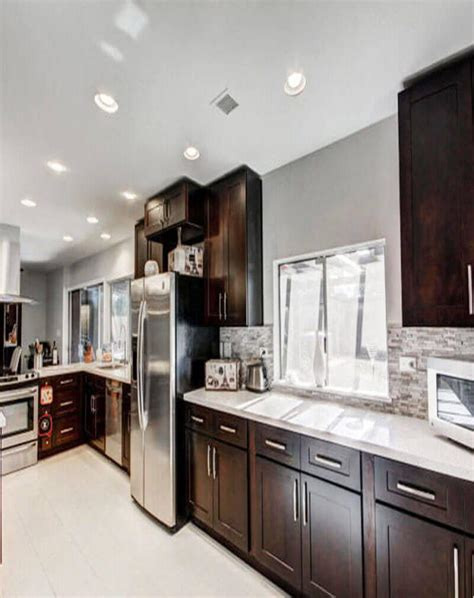espresso shaker kitchen cabinets 100 kitchen cabinets coquitlam kitchens with