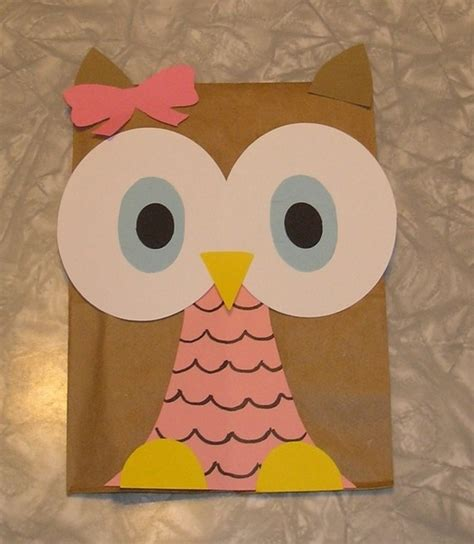 owl craft paper discover and save creative ideas