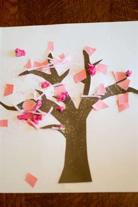 tree preschool craft tree craft for toddlers on as we grow
