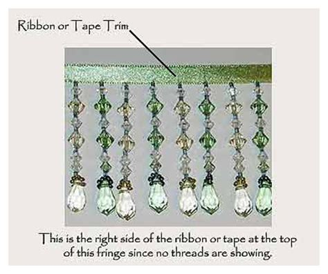 how to make beaded fringe decoratingstudio create a beaded fringe l shade