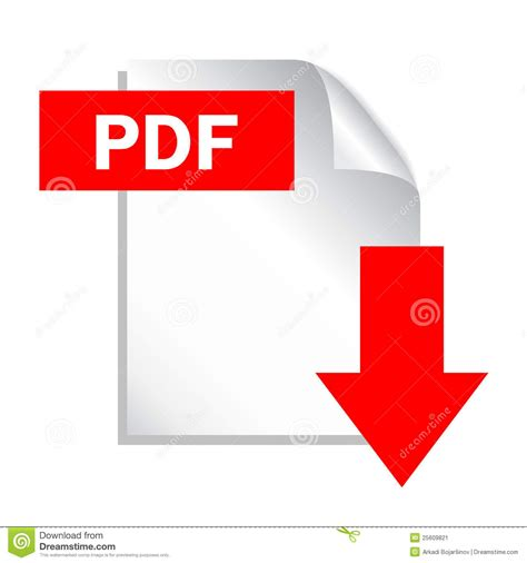 pdf free pdf button stock vector image of banner image