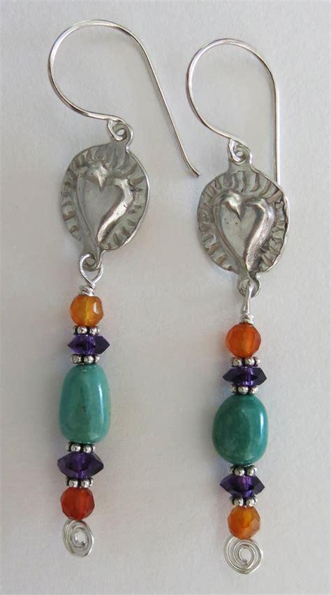 how to make handcrafted jewelry handmade turquoise and earrings handmade jewelry