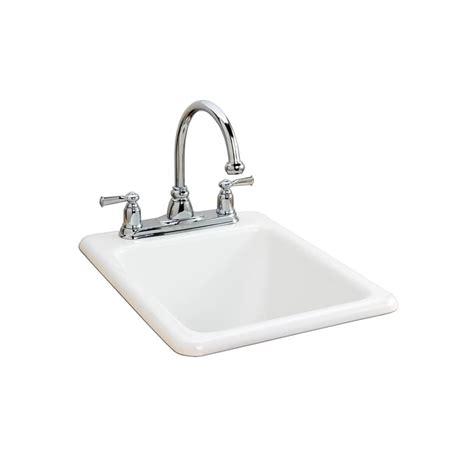 american standard cast iron kitchen sinks american standard 7085 803 345 bisque island drop in