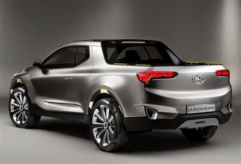 New Hyundai Truck by Hyundai Santa Crossover Truck Concept Car Reviews