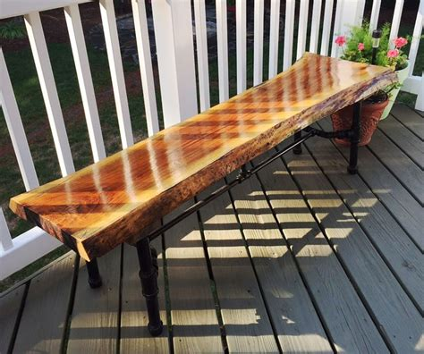 marine woodworking a time waterlox user finished his walnut bench with