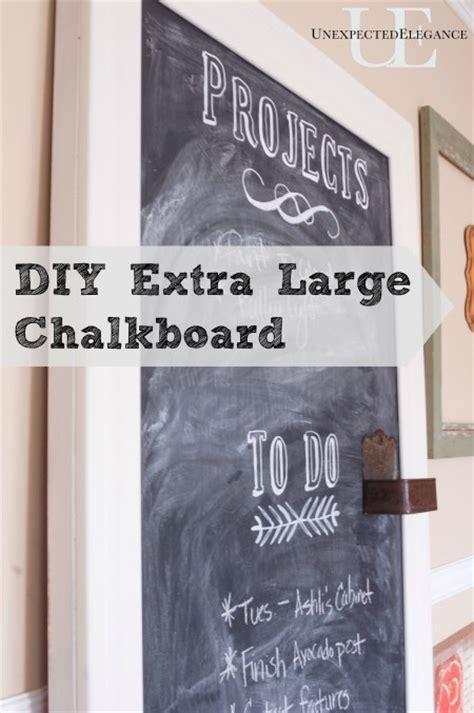 diy chalkboard large diy large chalkboard tutorial elegance