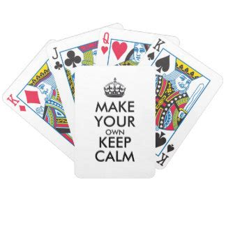 make your own deck of cards make your own keep calm black cards