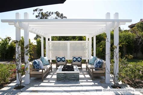 pergola with pit outdoor pergola and pit the side up