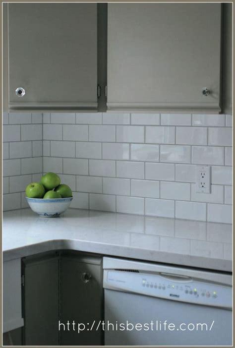 chalk paint melamine classic subway tile quartz countertop chalk paint