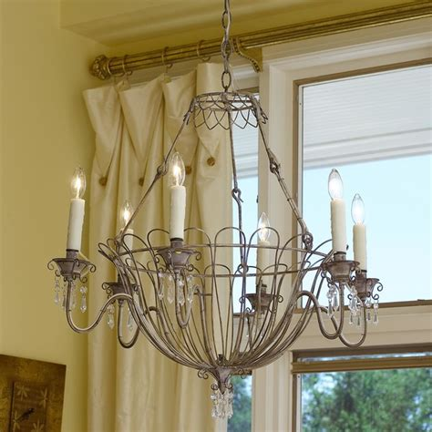 wire basket chandelier chandeliers by shades of