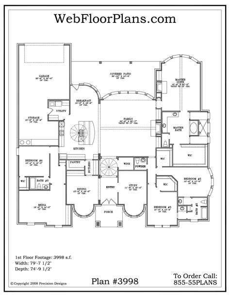 1 5 story house floor plans single story house plans smalltowndjs