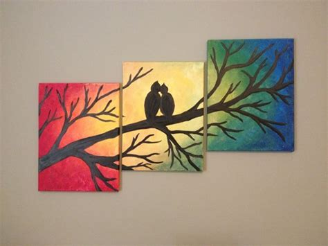 paint on canvas 80 easy canvas painting ideas