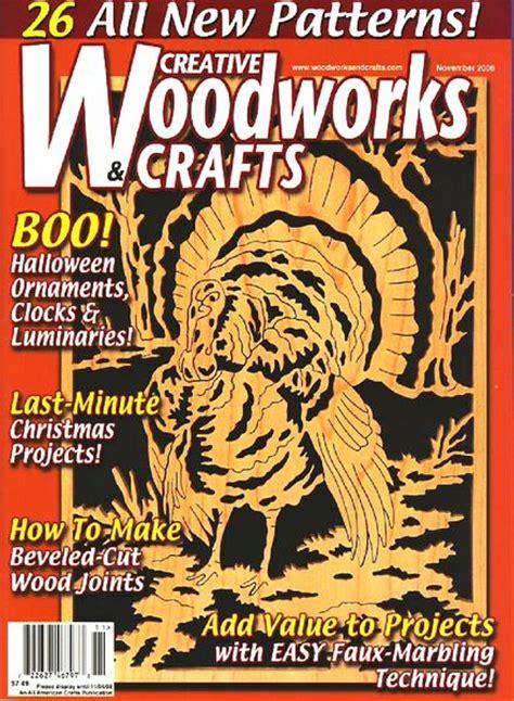 woodworks magazine creative woodworks crafts november 2008 pdf