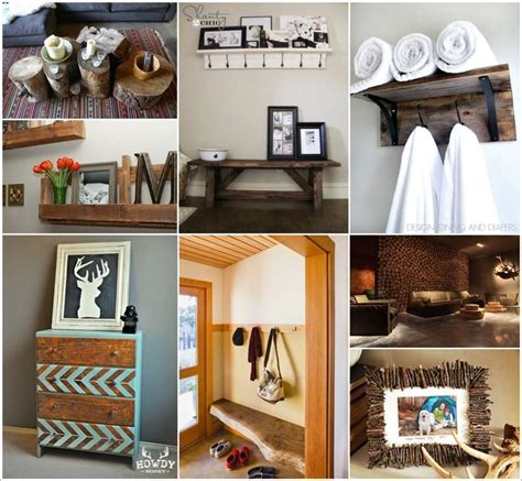 do it yourself home decor projects 40 terrific rustic home decor projects you can try yourself