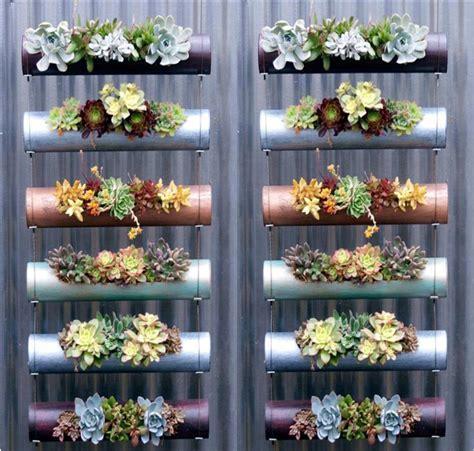 pvc garden ideas easy vertical garden diy ideas for small spaces