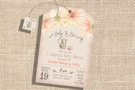 sample tea party invitation template 10 download free