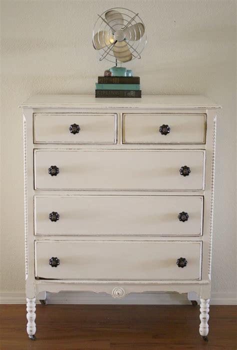 white chalk paint diy shabby white dresser with chalk paint