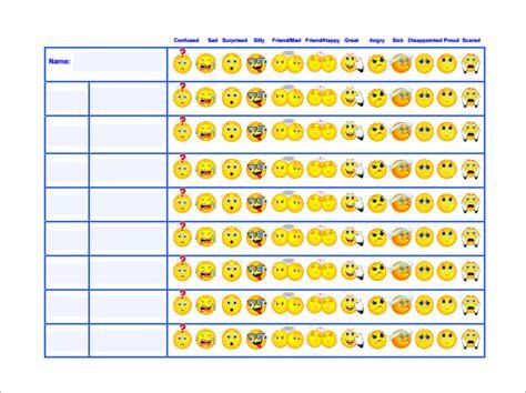 Exle Of Behavior Modification Chart by 6 Behavior Chart Templates Pdf Doc Free Premium