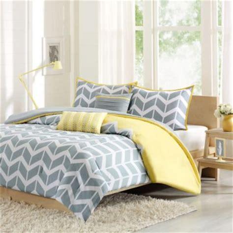 yellow bedding set buy yellow grey comforter from bed bath beyond