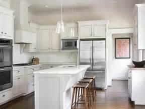 white kitchen with island shaker kitchen cabinets design ideas